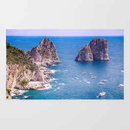 Capri Faraglioni Rug