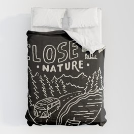 Close to Nature Comforters