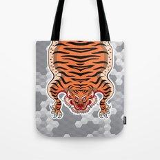TIBETAN TIGER (white) Tote Bag