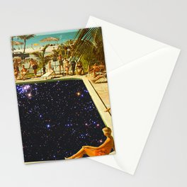 GALAXY POOL Stationery Cards