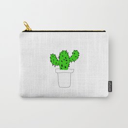 Cactus Plant Carry-All Pouch