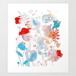 Rainbow Life Art Print