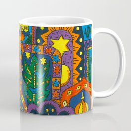 Night Dreams by Nettwork2Design Nettie Heron-Middleton Coffee Mug