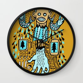 Drizzle City 2 Wall Clock
