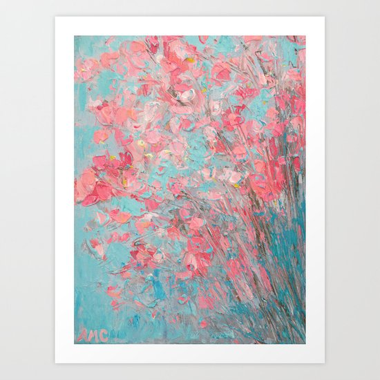 Appleblossoms Art Print