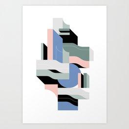 Architecture V Art Print