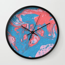 Marble texture 10 Wall Clock