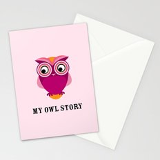 My owl story Stationery Cards