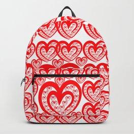 Love heats - Pattern 3 Backpack