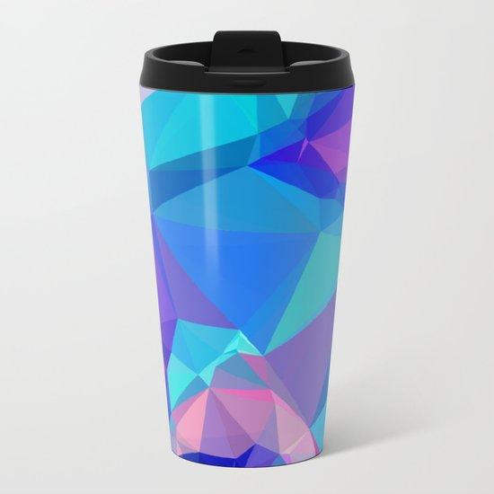 Neon Ice Metal Travel Mug