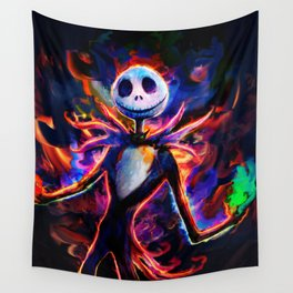 nightmare before christmas 2 Wall Tapestry
