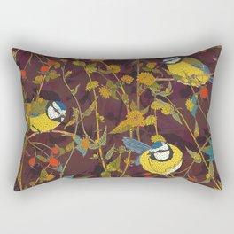 Beautiful Bluetits Rectangular Pillow