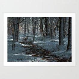 Melting Path #2 Art Print