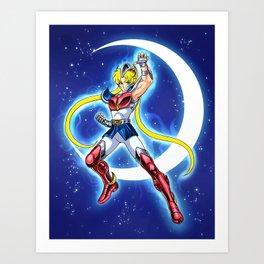 Caballero de la Luna Art Print