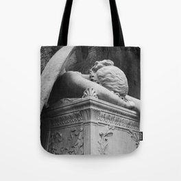 Mourning Angel Tote Bag