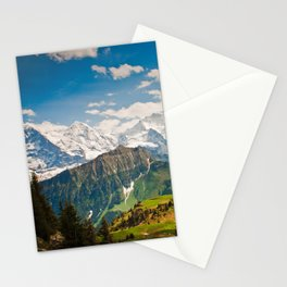 berner oberland, switzerland Stationery Cards