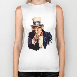 Uncle Sam Biker Tank