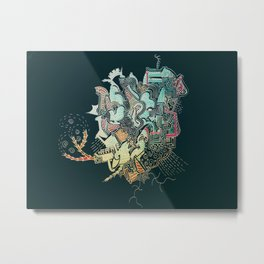 Vibemosh2 Metal Print