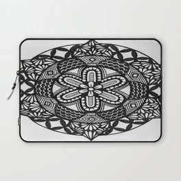 Flower Mandala Laptop Sleeve