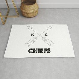 Chiefs Arrowhead Rug
