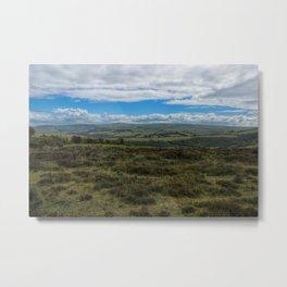 Exmoor National Park Metal Print