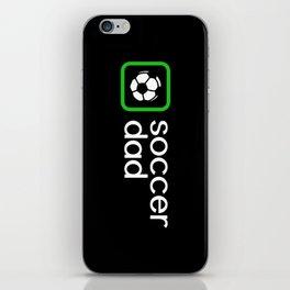Soccer Dad (Green) iPhone Skin