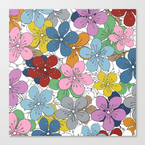 Cherry Blossom Colour - In Memory of Mackenzie Canvas Print