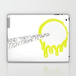 A Walk On a Tightrope To The Sun Laptop & iPad Skin