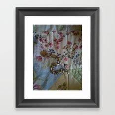A Lady's Belongings Framed Art Print