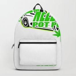 Need for Weed Hot Pursuit Cannabis Kiffer Backpack