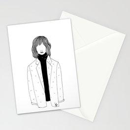 La fille sans visage °2° Stationery Cards