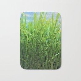 Wheat Grass in Motion Bath Mat