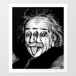 Smart Guy Art Print