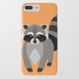 Raccoon Mischief iPhone Case
