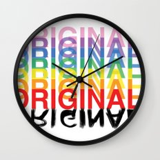 Original. Wall Clock