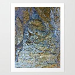 Stone Work Art Print