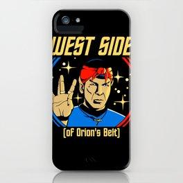 West Side - Spock iPhone Case