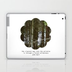 the clearest way into the universe Laptop & iPad Skin