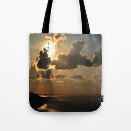 Darkling Sunset Tote Bag