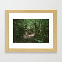 Canoccupied Framed Art Print