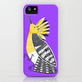 The Hoopoe iPhone Case