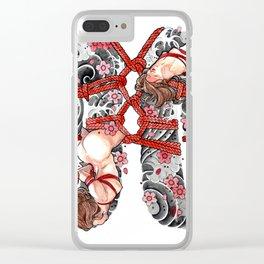 SHIBARI Clear iPhone Case