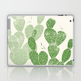 Linocut Cactus #1 Laptop & iPad Skin
