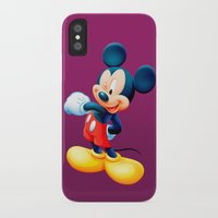 mickey iPhone & iPod Cases featuring Mickey by loveme