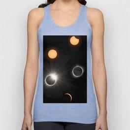 Solar Eclipse Unisex Tank Top