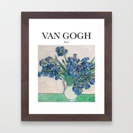 Van Gogh - Irises Framed Art Print