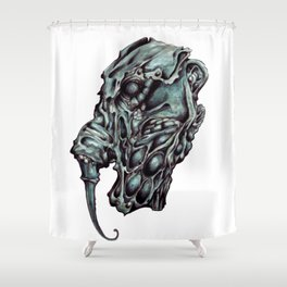 Elephant Man Shower Curtain