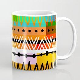 Geometric Tribal Pattern Coffee Mug