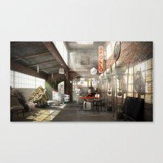 /warehouse Canvas Print