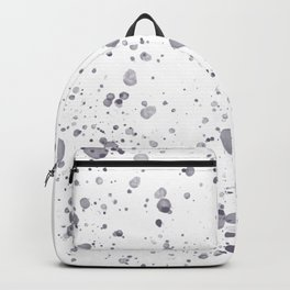Lavender Ink Drops Backpack
